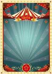 cream retro circus background
