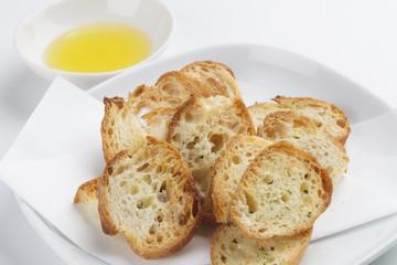 バジルのフランスパン