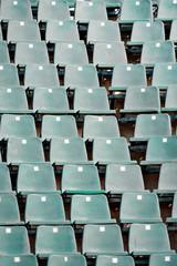 Empty sport arena seats