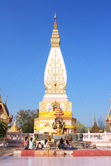 Phra That Satja, Wat Phra That Satja temple, Loei Thailand