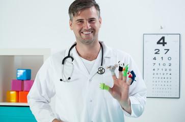 Friendly pedriatrician