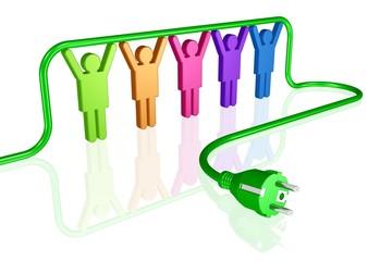 Teamwork für grüne Energie