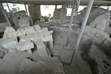 イタリア ローマ 発祥の地 ローマ建国の主住居跡