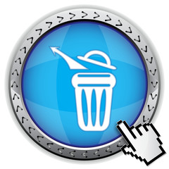 OUT TRASH ICON