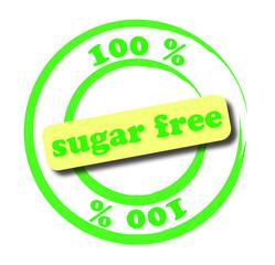 100 % sugar-free