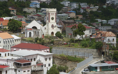 St Georges Church Cyclone Carenage Bay Grenada Carribean 01