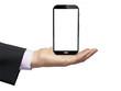Mobile phone wireless communication technology qith blak screen
