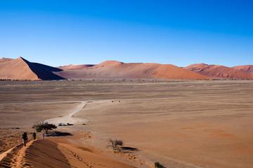 Namibia, paesaggio dalle dune