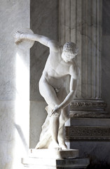 Myron Statue