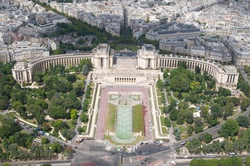 From the Eifel tower