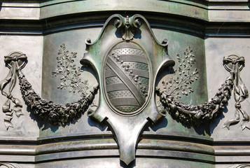 Sachsenwappen Dresdner Zwinger