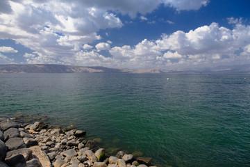Sea of Galilee. lake kinneret . Israel