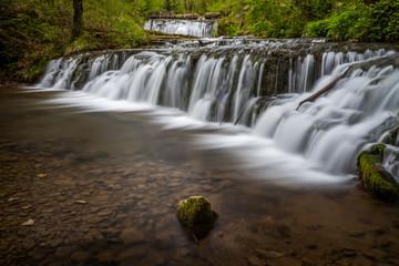 Waterfall in the Jura