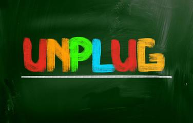 Unplug Concept