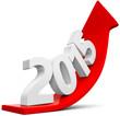 roter Pfeil nach oben 2015