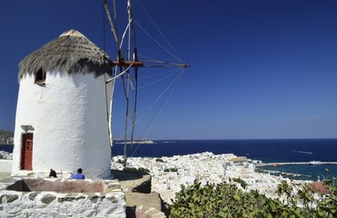 Mykonos wyspa w Grecji Cyklady