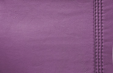 Purple, pink leather background or texture
