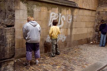 Street vandalism