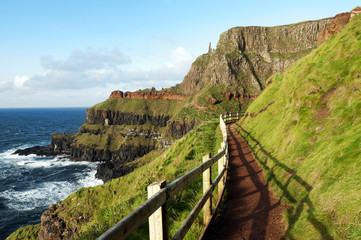 Path at the Giants Causeway, Ireland
