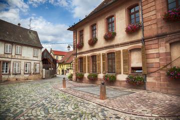 village Riquewihr,  Strasbourg region