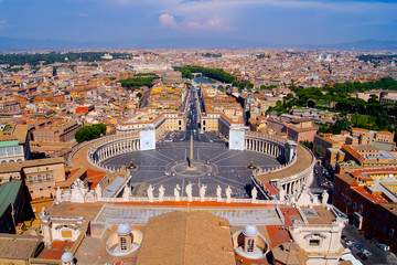 Vatican City panorama