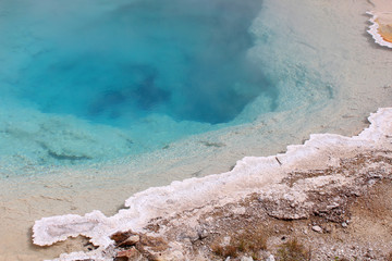 Yellowstone National Park - Hot spring