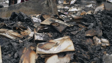 Burning in the court documents prosecutors