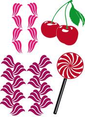 Cupcake candy dekor