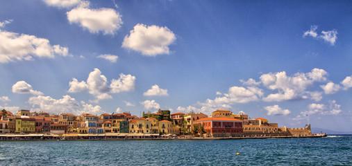 Chania on island of Crete, Greece