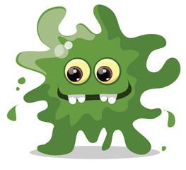 Мультфильм мило бактерии