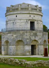 Mausoleum of Theodoric in Ravenna - Italy