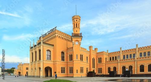 Zdjęcia na płótnie, fototapety, obrazy : Restored Main railway station in Wroclaw, Poland
