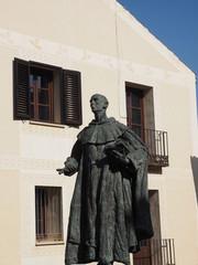 Escultura de San Juan de la Cruz en Segovia