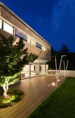 Architecture modern design, house, outdoor