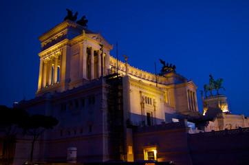 National monument Vittorio Emanuele 2 in Rome