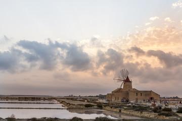 Saline di Marsala e Mulini a Vento - Trapani, Sicilia