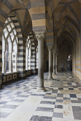 Amalfi Cathedral, external colonnade.