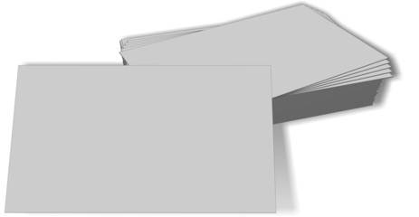 Business cards mockup blank