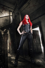 red gothic 4