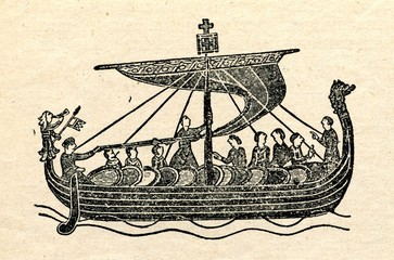 Viking ship (Bayeux Tapestry)