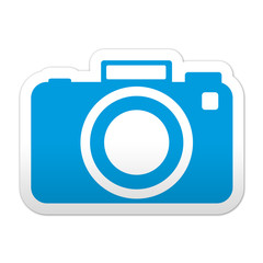 Pegatina simbolo fotografia