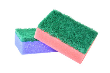 Pair of washing sponge