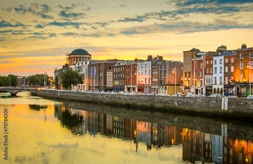 Poster Irland-Dublin