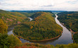 Das Wahrzeichen des Saarlandes: Die Mettlacher Saarschleife