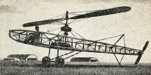 Helicopter of Boris Yuryev (1911)