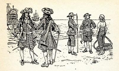 Sailors, 17 century