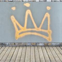 Krone graffiti