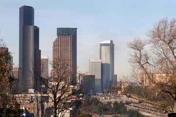 Seattle Washington Skyscrapers