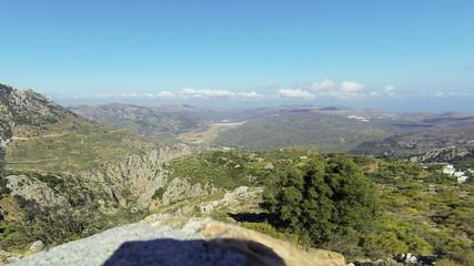 Горы Греции.