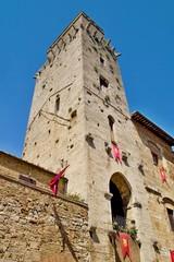 Tuscany city tower